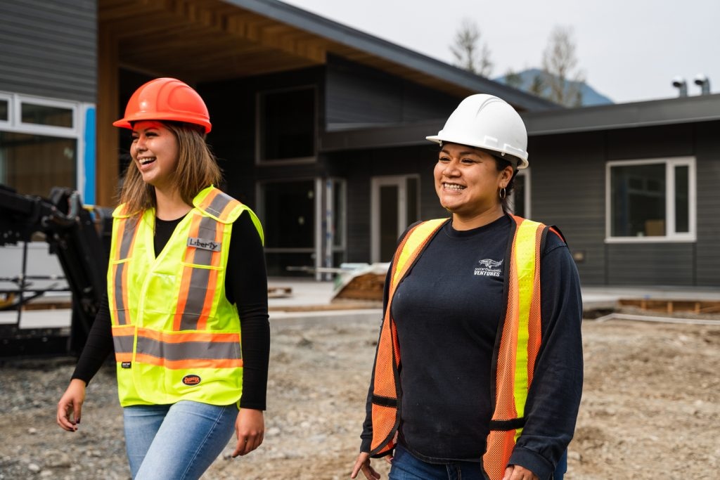 Kayla supports Shxwowhamel Ventures and Indigenous Construction