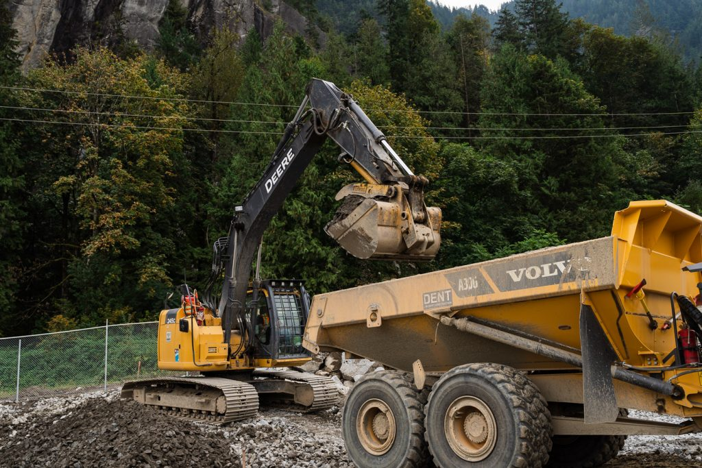 Shxwowhamel Ventures and Dent complete Heavy Civil Construction projects