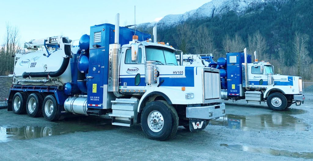 SVLP Patriks Water Hauling specialized equipment for water and vacuum services