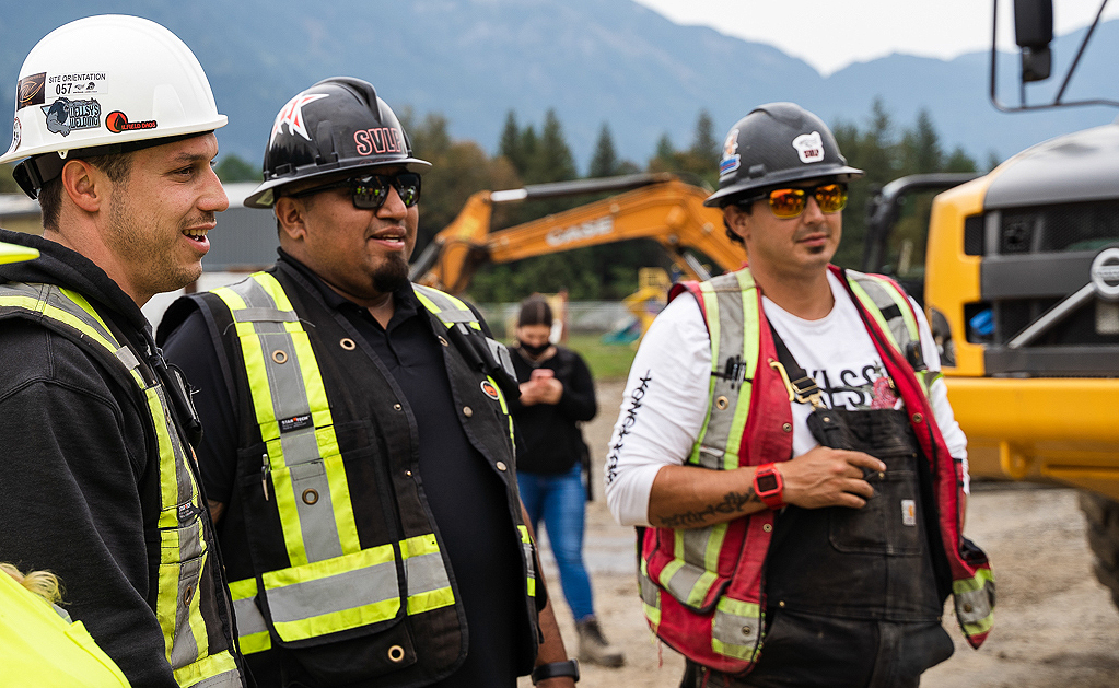 SVLP - Landon John - Superindentent for Heavy Construction in BC